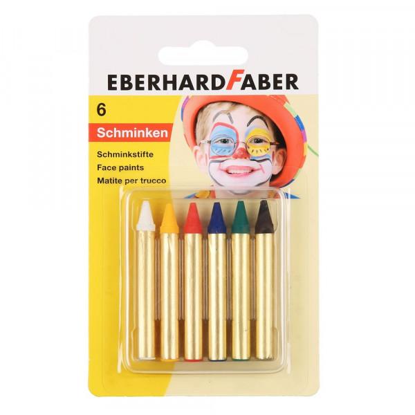 Eberhardt Faber Schminkstifte Basic, 6 Farben