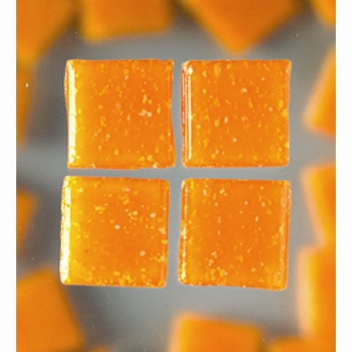Efco Mosaik Glasstein pro, 20 x 20 mm, orange