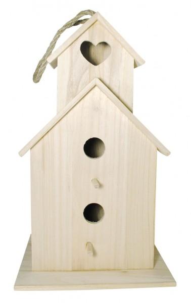 Holz-Vogelhaus Saint Tropez 22 x 19 x 39 cm