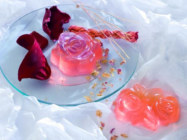 Seifen-Giessform Rosen