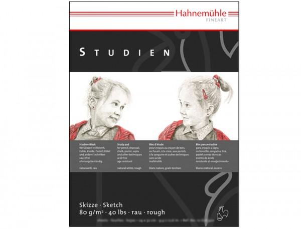 Studienpapier 80 g/m², 42x56cm, 50 Blatt - rau