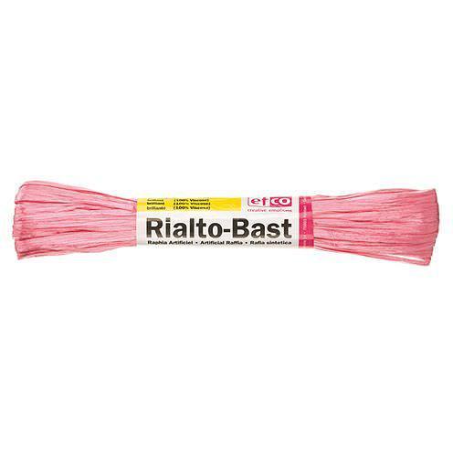 Edelbast Viscose, 10g, glänzend pink