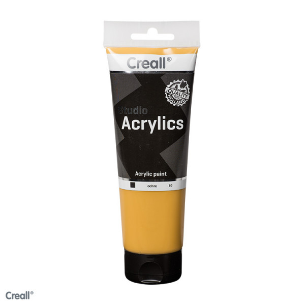 Creall-studio Acrylfarbe, 250 ml, Ocker