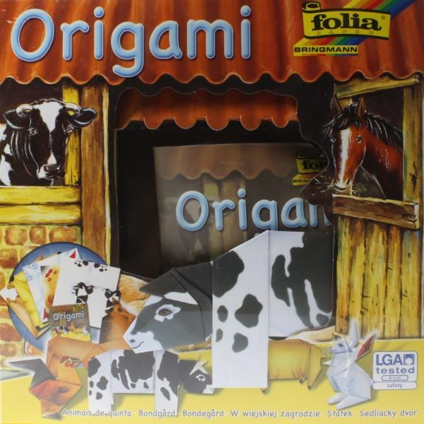 Origami-Set Tierwelt Bauernhof