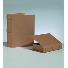 Boxen-Set Buch, aus Pappmaché, 2-teilig