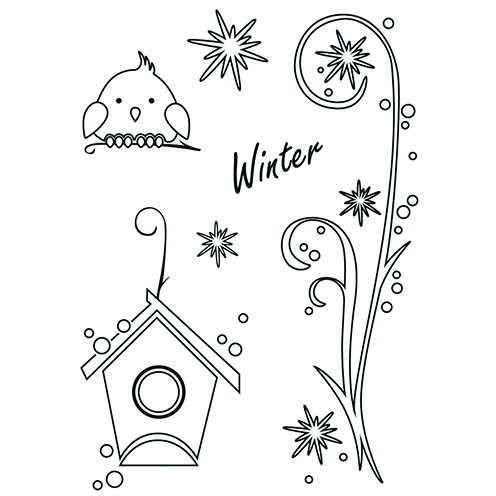 Clear Stamps - Winter
