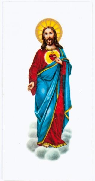 Wachsbild Jesu, 95 x 50 mm