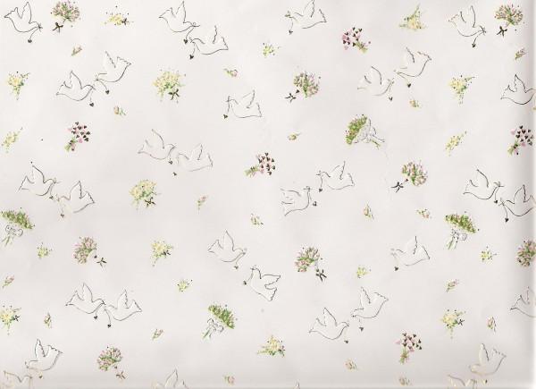 Prägepapier Hochzeit, 50x70 cm, 6 Bogen