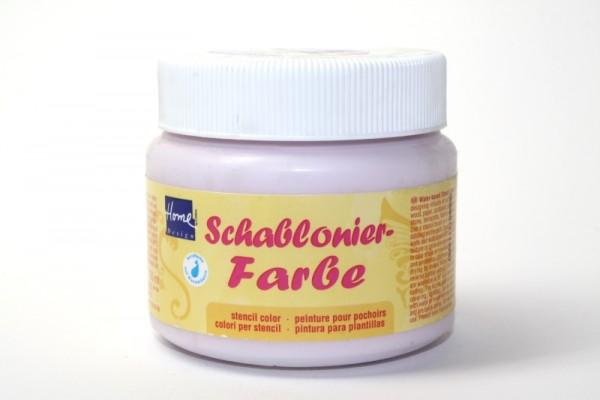 Home Design Schablonierfarbe, 150 ml, Pastellviolett