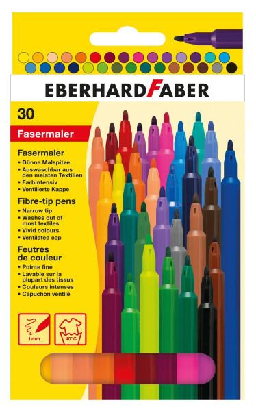 Eberhard Faber Fasermaler, 30er Kartonetui