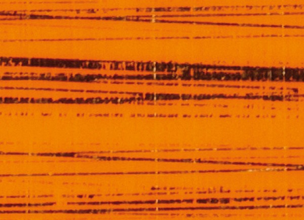 Verzierwachsplatte, gold gestreift, 10 St., orange