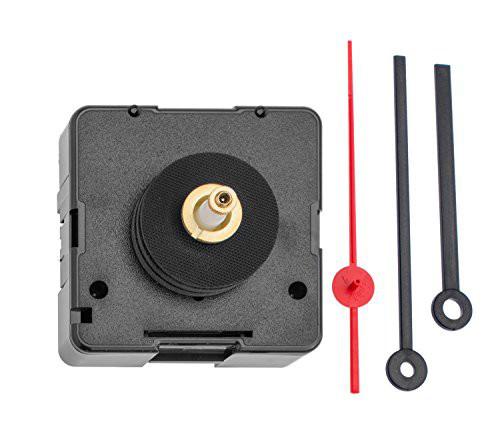 Uhrwerk mit Zeiger, Achslänge 20 mm, für Zifferblattstärke 9-13 mm