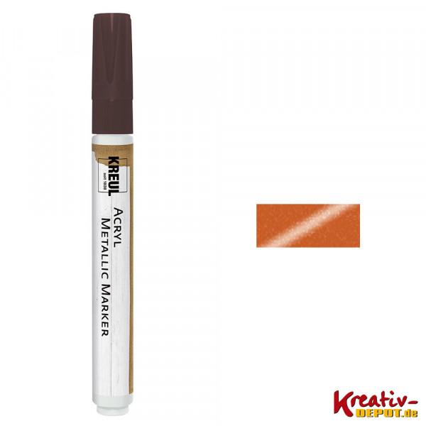 KREUL Acryl Metallic Marker, kupfer