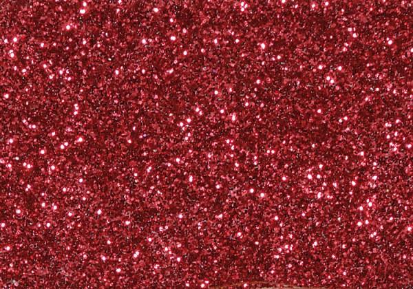 Glitter grob, 110 g, rot