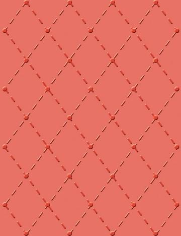 Cuttlebug Hintergrund-Prägeschablone, In Stitches