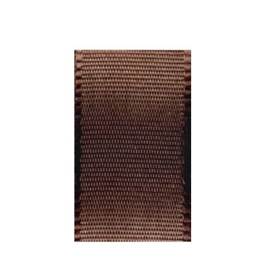 Uni-Taftband, Länge 10 m, Breite 25 mm, dunkelbraun