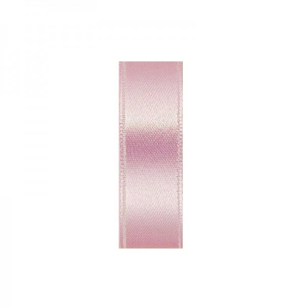 Satinband, doppelseitig, Länge 10 m, Breite 3 mm, dunkelrosa