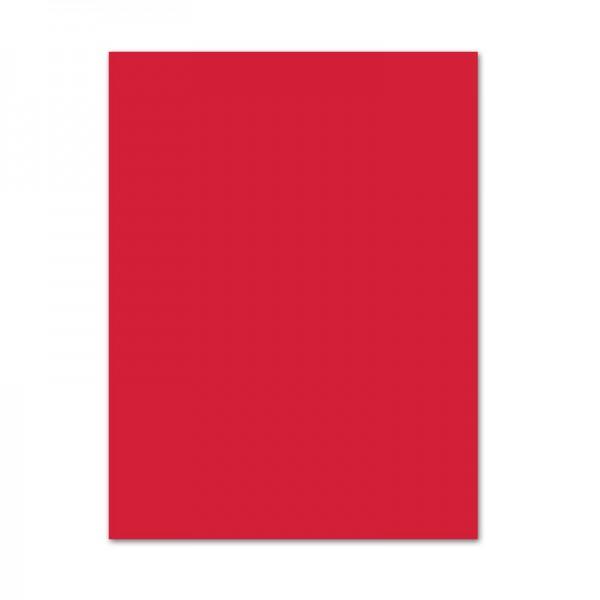 Bastelkarton, 10er Pack, 220 g/m², 50x70 cm, hochrot