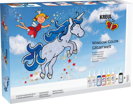 "Kreul Window Color Set ""Glitzer-Welt"""