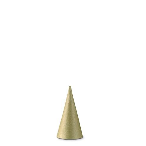 Pappmaché Kegel ∅ 4 x 8 cm