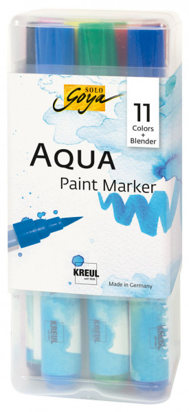 Aqua Paint Marker - 12er Set