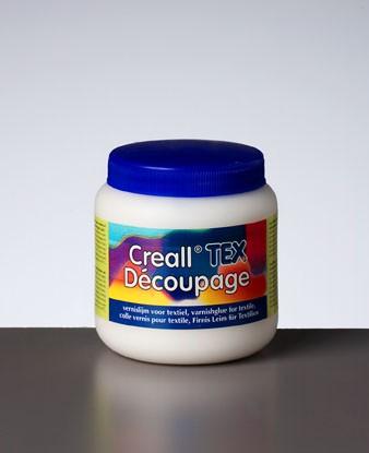 Creall-tex dècoupage, Firnisleim für Textil, 250 ml
