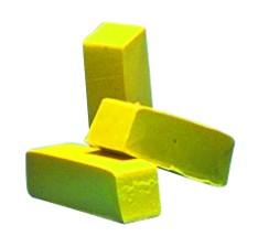 Farbpigmente für Wachs, 3 Stück, gelb
