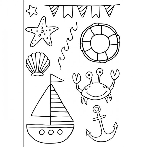 Clear Stamps - Strand