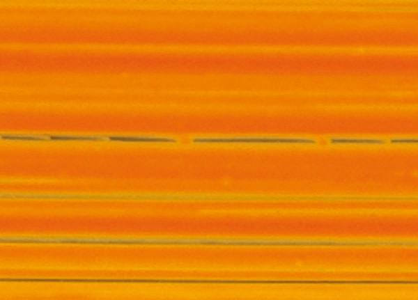 Verzierwachsplatten, gestreift, 200x100x0,5mm, 10 Stk., dkl. ora