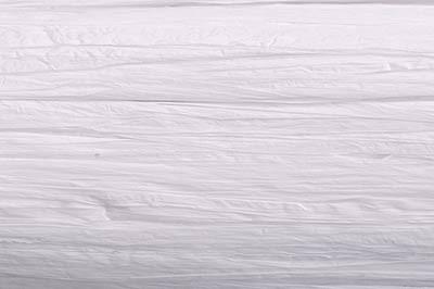 Edelbast Viscose, 30 m, matt weiß