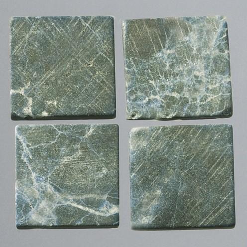 Efco Mosaik Echtstein pur, 10 x 10 mm, dunkelgrün