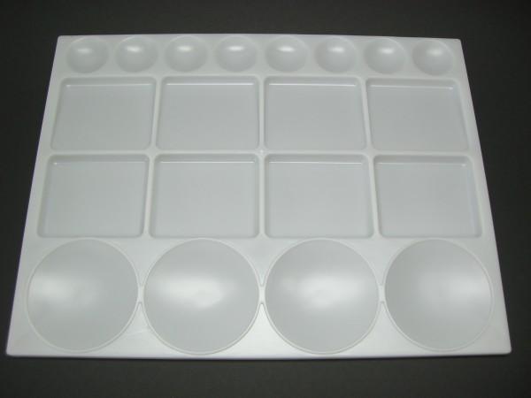 Kunststoffpalette, 25,5x33,5 cm, eckig