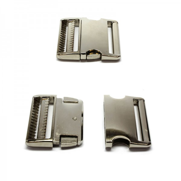 Steckschnalle 50mm Aluminium