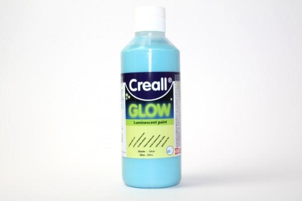 Creall-glow, Nachtleuchtfarbe, 250 ml, blau