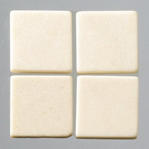 Efco Mosaik Echtstein pur, 10 x 10 mm, creme