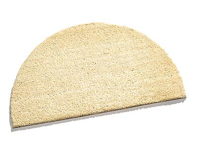 Carpet Color Kokos-Matte, halbrund, 40x70x1,5cm