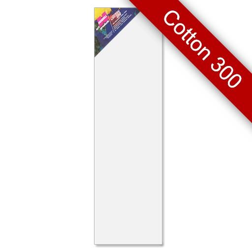 Keilrahmen Cotton 300, 20x70 cm, 6 Stück