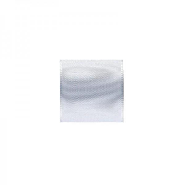 Uni-Taftband, Länge 10 m, Breite 40 mm, weiß