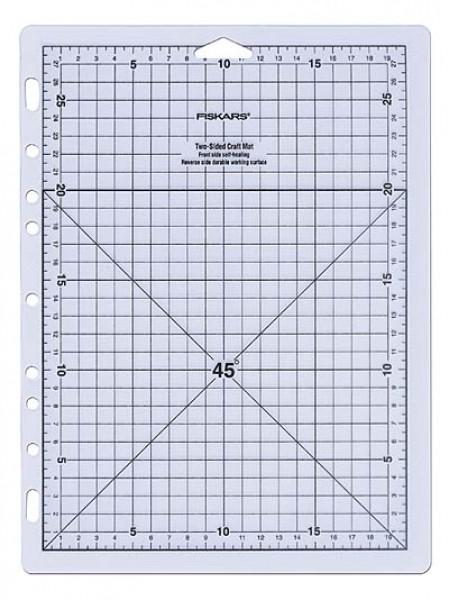 Fiskars Selbstheilende Schneidematte 30,5 x 22,8 x 0,2 cm