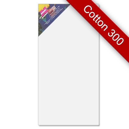 Keilrahmen Cotton 300, 50x100 cm, 4 Stück