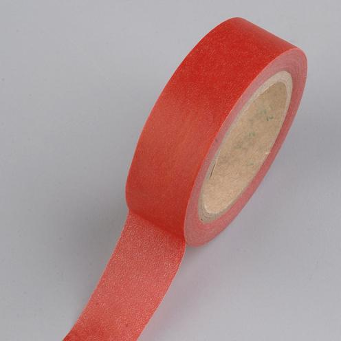 creative tape washi tape 15 mm x 10 m uni rot. Black Bedroom Furniture Sets. Home Design Ideas
