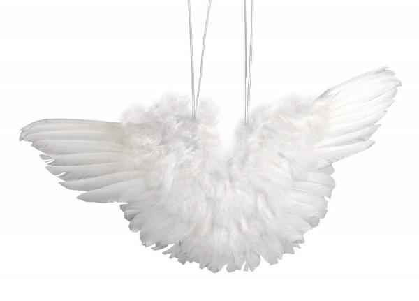 Engelsflügel, aus Federn, 11 cm