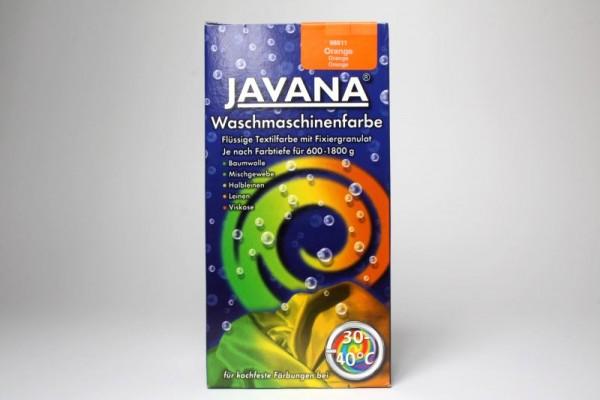 JAVANA Waschmaschinenfarbe, Orange