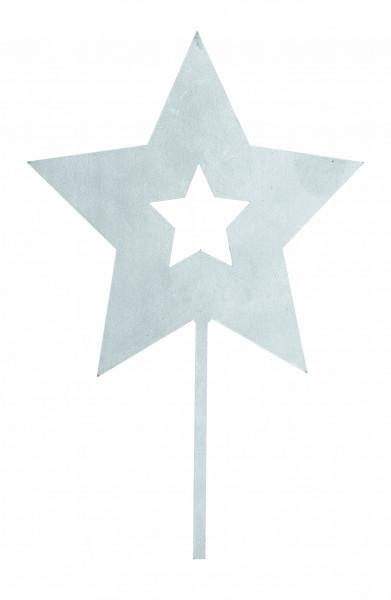 Stern aus Metall - 19,5 cm