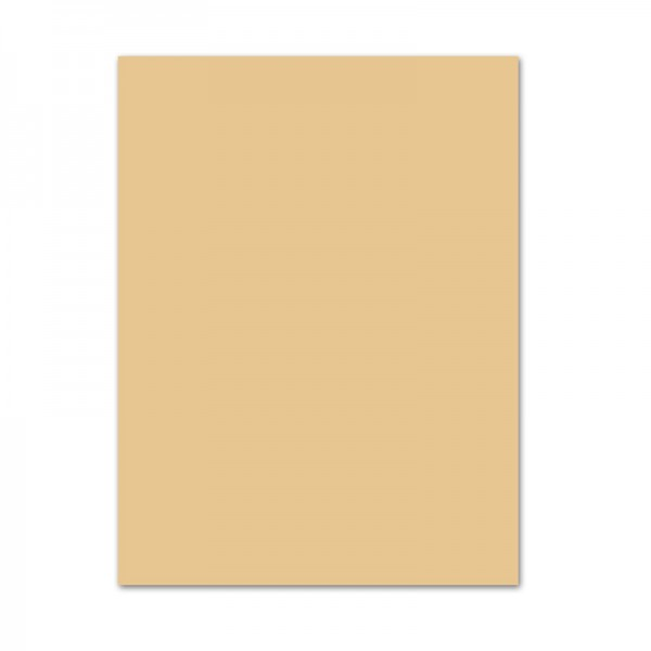 Tonpapier, 10er Pack, 130 g/m², 50x70 cm, chamois
