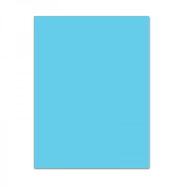 Fotokarton, 50er Pack, 300 g/m², DIN A4, himmelblau