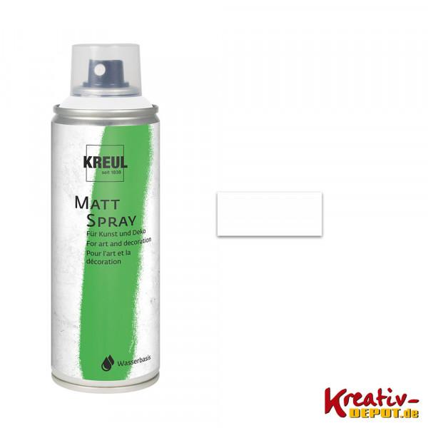 KREUL Matt-Spray 200 ml, weiß