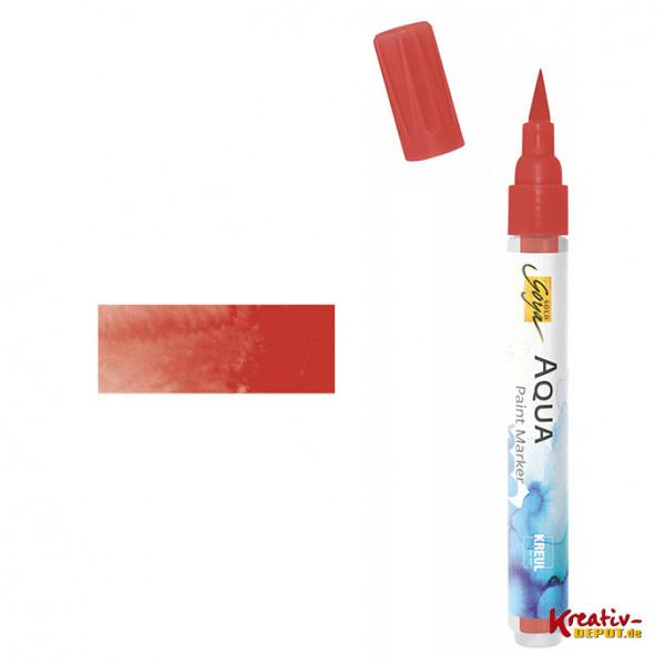 Aqua Paint Marker - Zinnoberrot dunkel