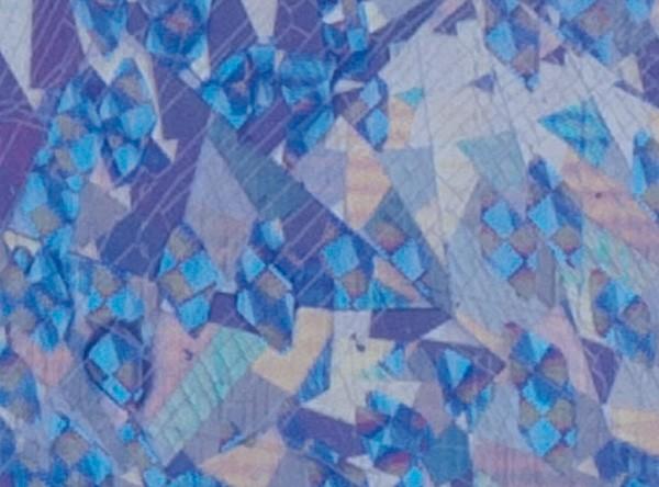 Verzierwachsplatten, flitter, 200x100x0,5mm, 10 Stück, flieder