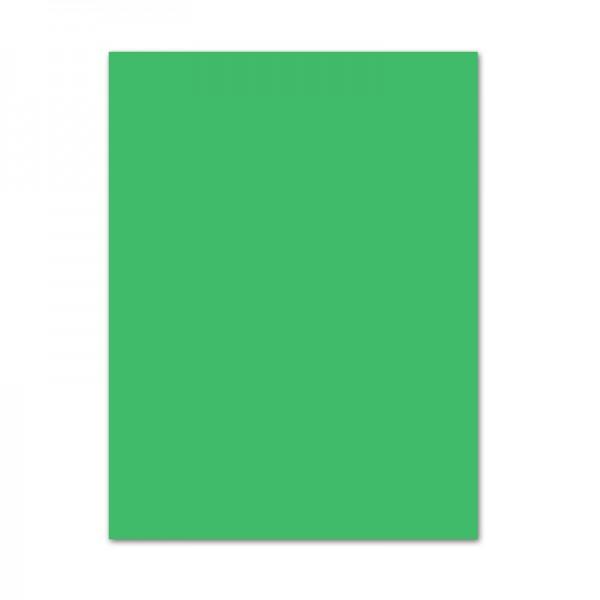 Bastelkarton, 10er Pack, 220 g/m², 50x70 cm, smaragdgrün